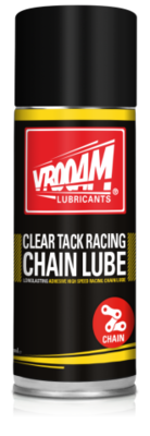 VROOAM Clear Tack Racing Chain Lube